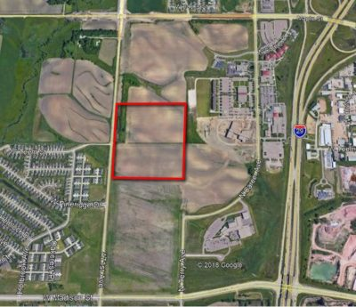Approximate Location of Sioux Falls School District's New High School