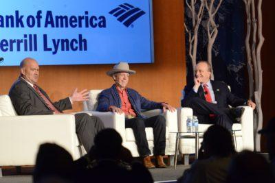Mark McKinnon & Paul Begala discussing the state of U.S. politics