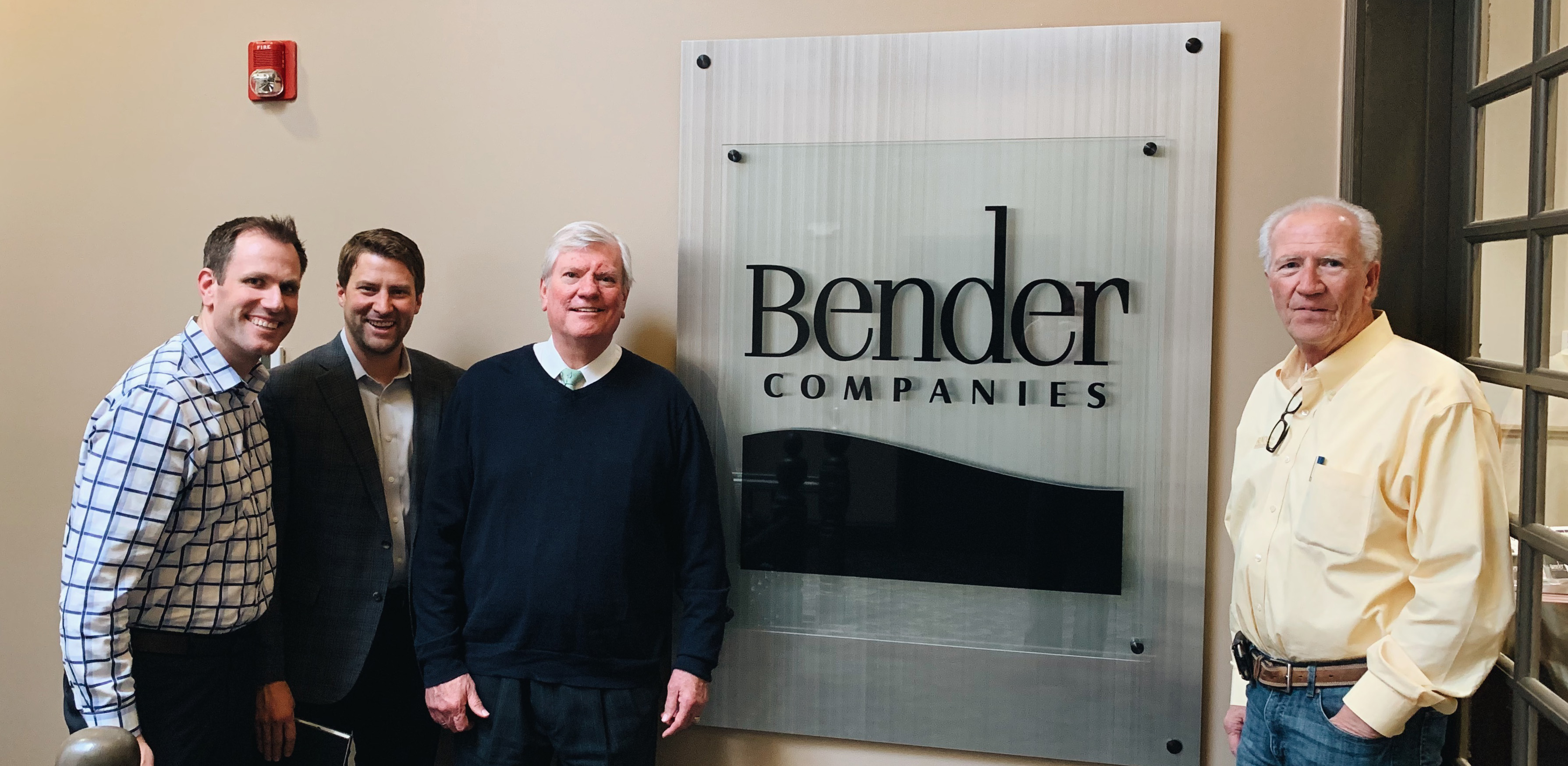 Bender Team with Ted C. Jones