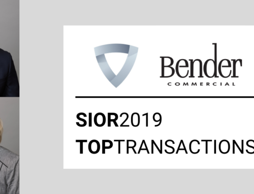 Bender, Anderson Ranked In SIOR's Top Transactions List of 2019