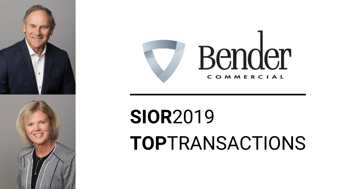 Bender, Anderson Honored for Top Transaction in Sioux Falls